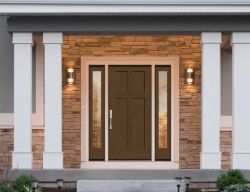 How do you know when it's time to replace the entry door system on a home?