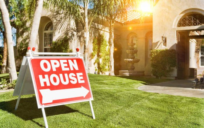 House for sell with open house sign (Should I Replace My Windows Before Selling My Home)