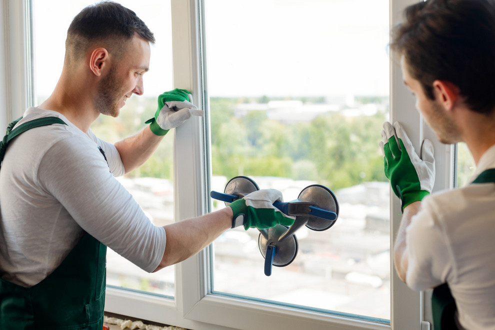 Installers Replacing Window